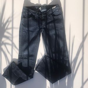 Edun jeans, low rise, straight